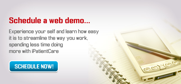 Schedule a web demo