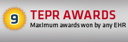9 TEPR Awards - Maximum awards won by any EHR